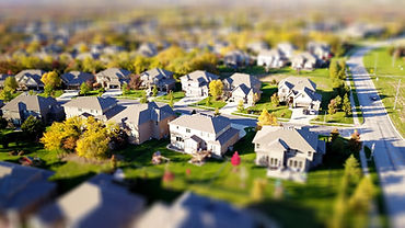 high-angle-shot-of-suburban-neighborhood