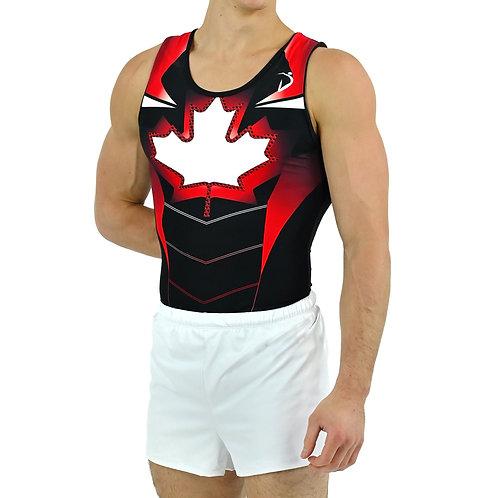 Captain Canada- Singlet