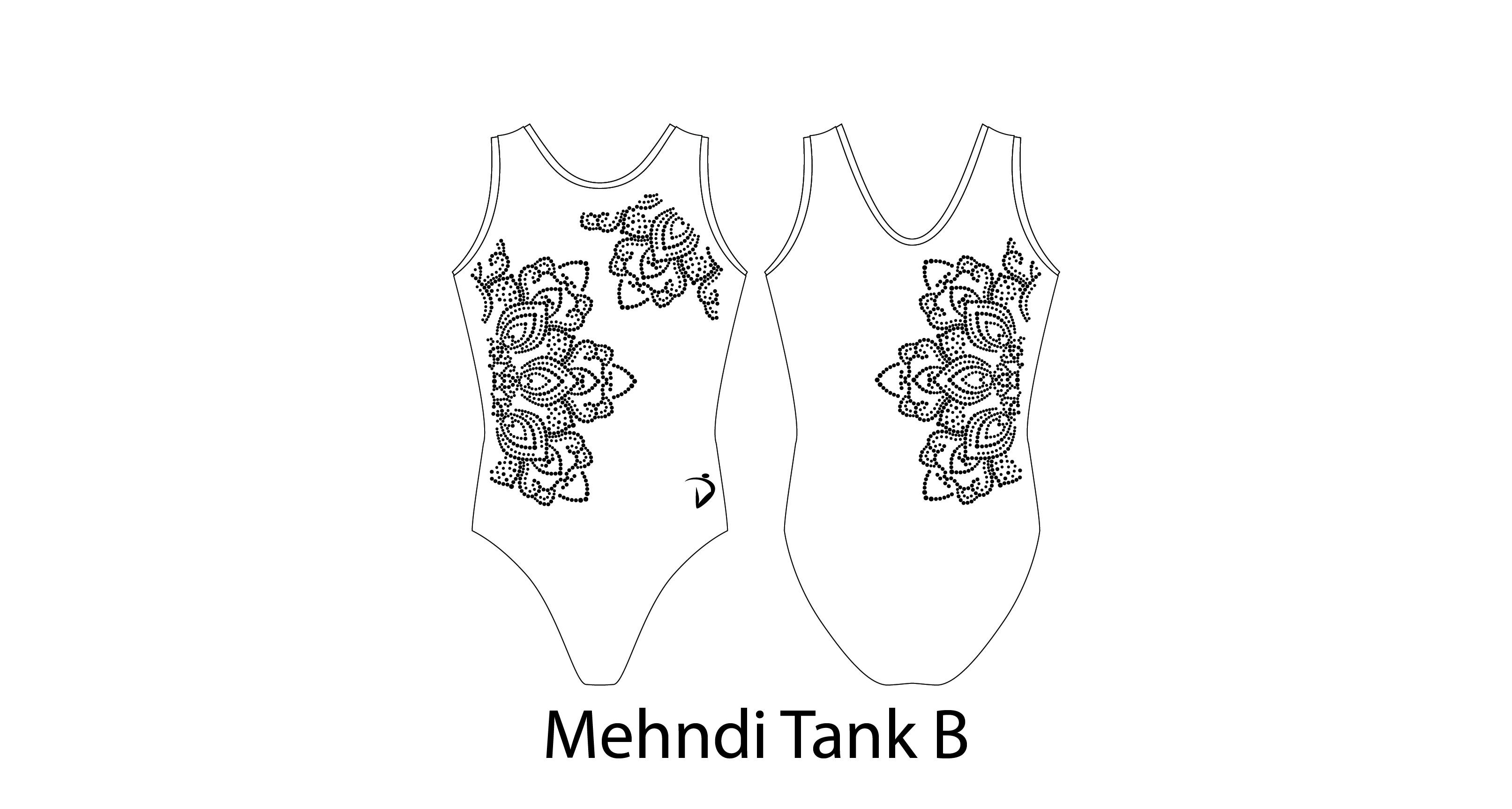 Mehndi Tank B