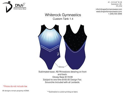 White Rock Gymnastics- Custom Tank #1.4