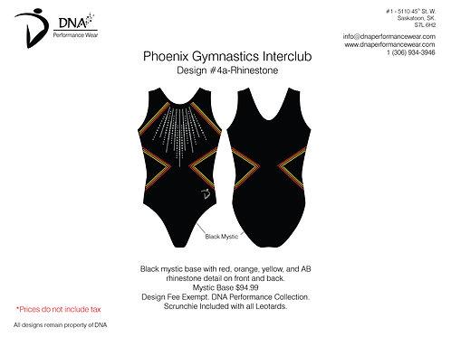 Vancouver Phoenix Gymnastics- Custom #4A