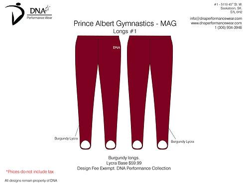 Prince Albert Gymnastics- Longs #1