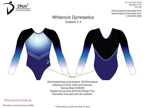White Rock  Gymnastics Custom #1.4