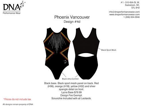 Vancouver Phoenix Gymnastics- Custom #4D