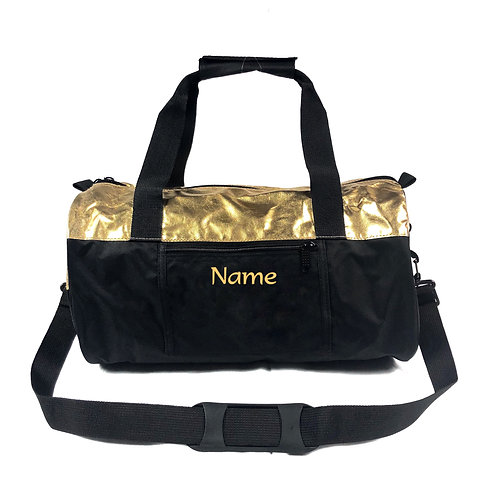 Personalized Gym Bag- Gold