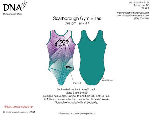 Scarborough Gym Elites- Custom Tank #1