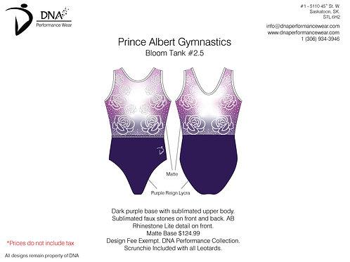 Prince Albert Gymnastics- Bloom Tank #2.5