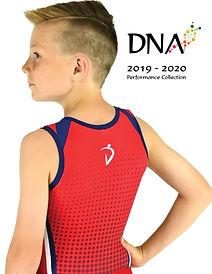 DNA performance wear men's gymnastics team wear catalogue 2019