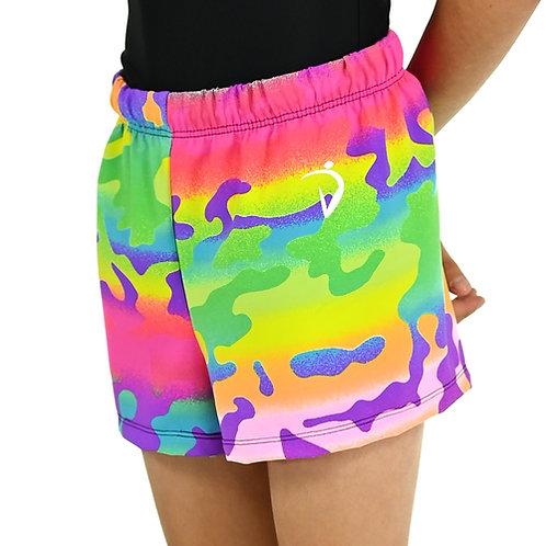 Men's Shorts- Rainbow Camo