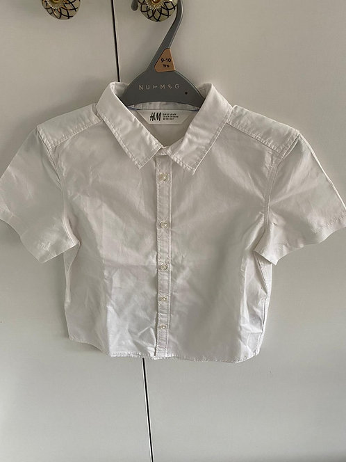 6-7y H&M White Button Up