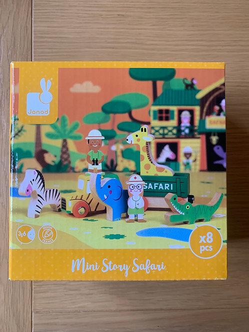 New! Janod Mini Story Safari
