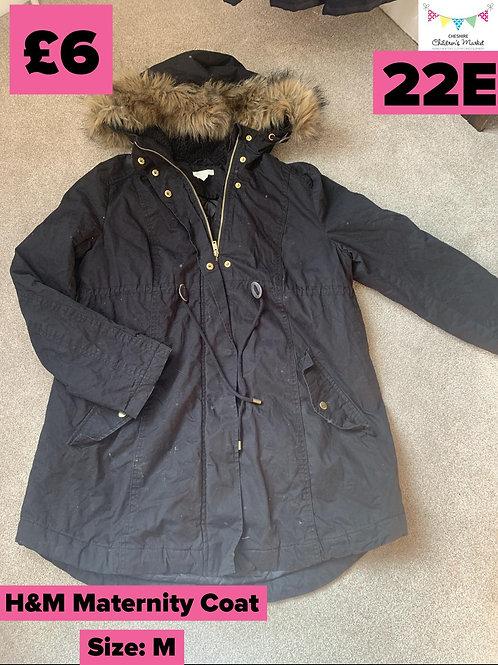 Maternity Coat Size M 22E