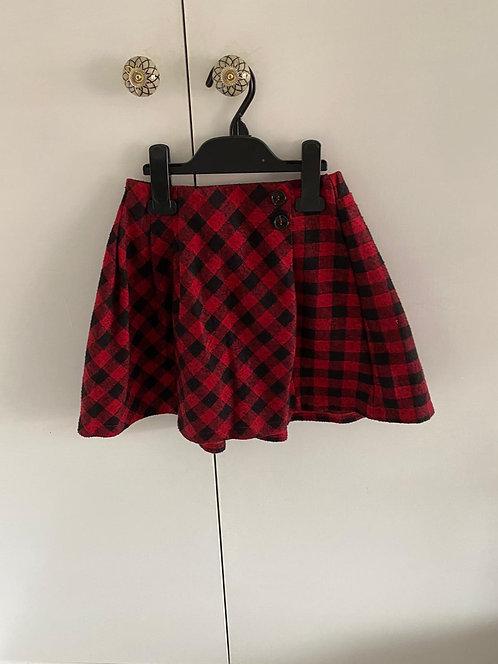 9y Zara Checked Skirt