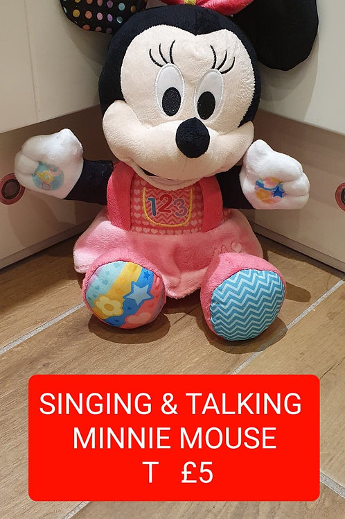 Singing & Talking Minnie Mouse
