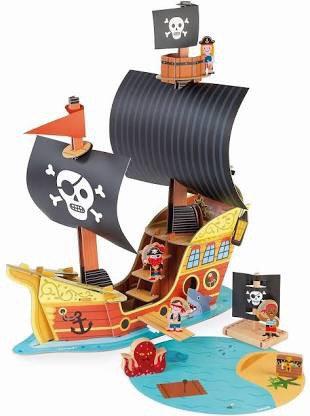 Janod Story Pirate Ship