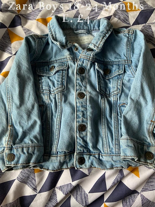 18-24m Boy's Zara Denim Jacket