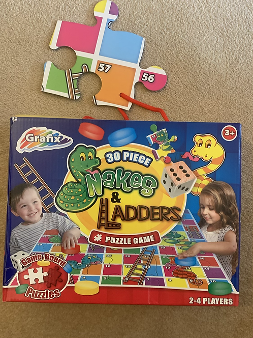 Snakes & Ladder Puzzle Game