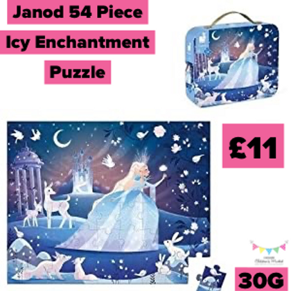 Janod 54 Piece Icy Enchantment Puzzle 30G