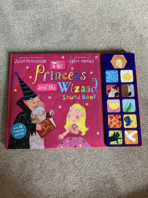 Princess and then Wizard Sound Book