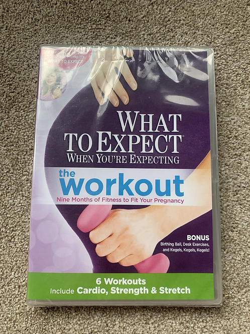 What to Expect DVD New!