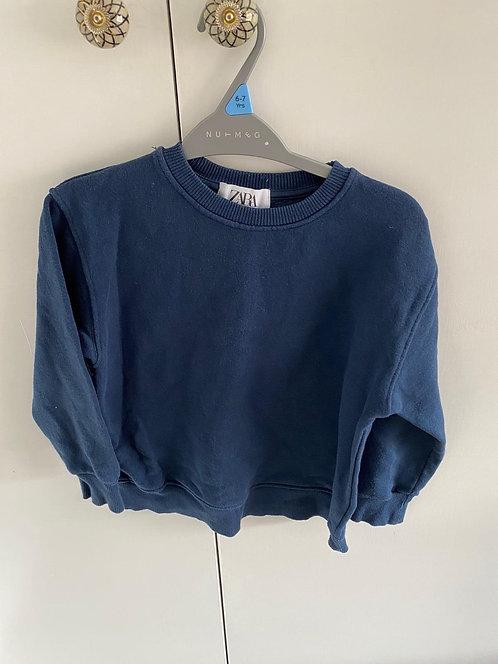 8y Zara Sweatshirt Blue
