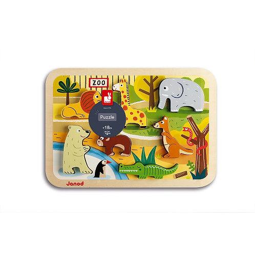 Janod Chunky Zoo Puzzle