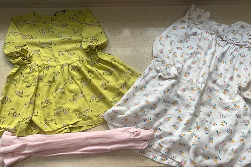 2-3y Dresses with Tights