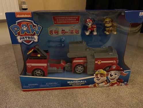Brand New Marshall Split Second Vehicle
