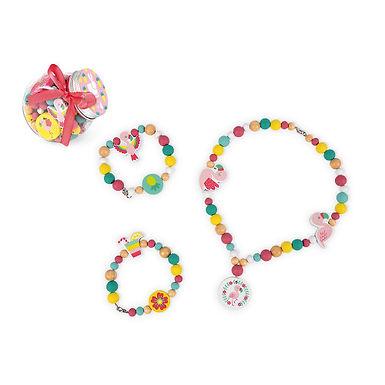 Janod Birdy Flamingos 220 Beads