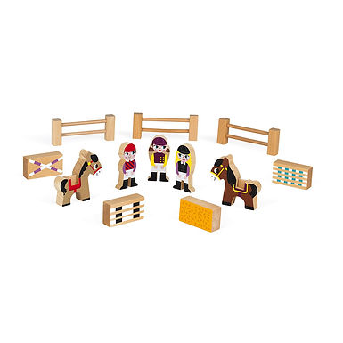 MINI STORY RIDING SCHOOL (WOOD)