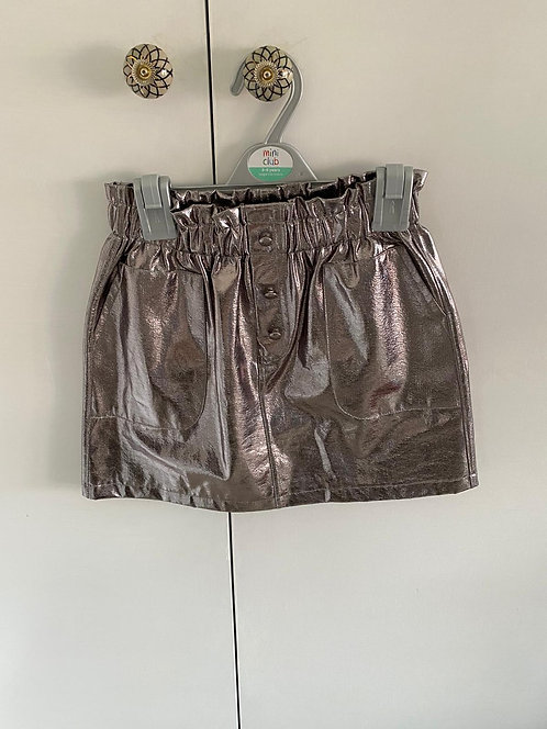 11-12y Zara Metallic Skirt
