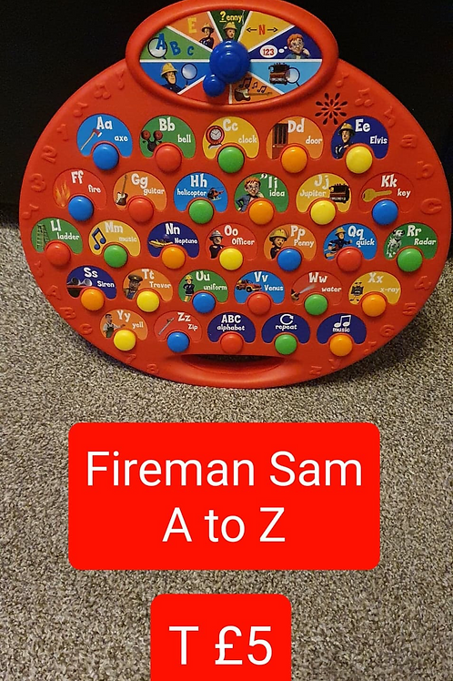 Fireman Sam A to Z Toy