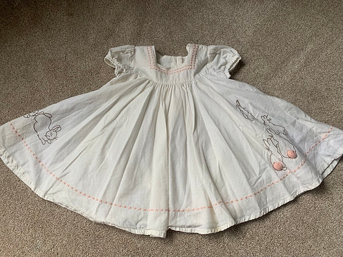 3-6m M&S Peter Rabbit Dress