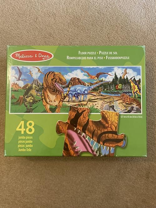 Melissa & Doug Dinosaur Floor Puzzle
