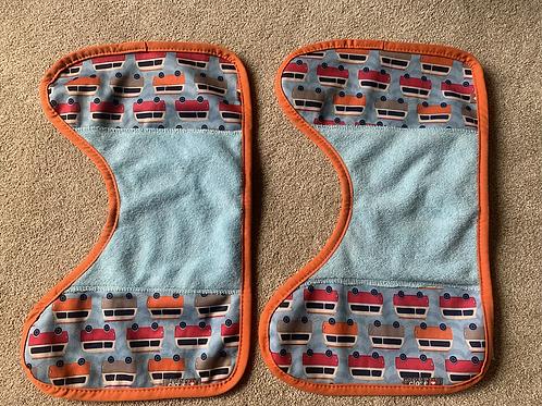 Close Baby Reusable Burping Cloths x2