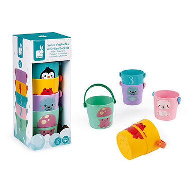 Janod 5 Activity Buckets