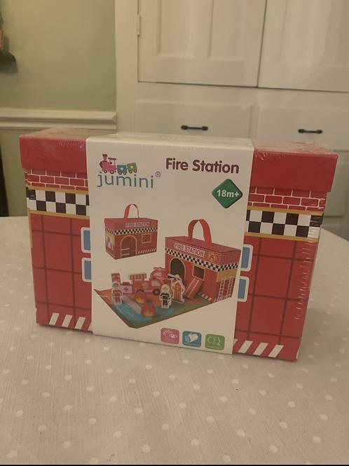 Jumini Wooden Fold Away Fire Station
