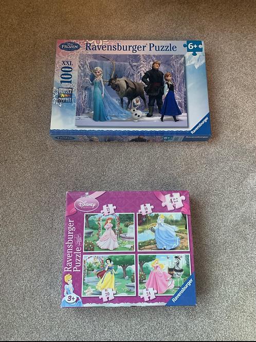 Princess Puzzles x2