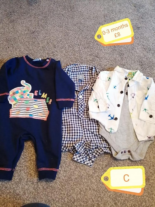 Outfits x3 0-3m