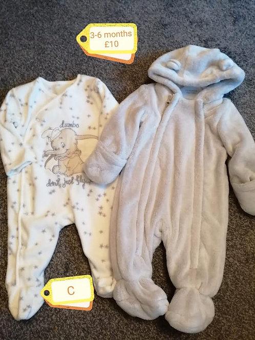 Sleepsuit & Pram Suit 3-6m