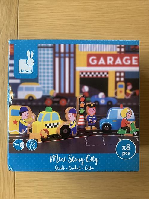 New! Janod Mini Story City