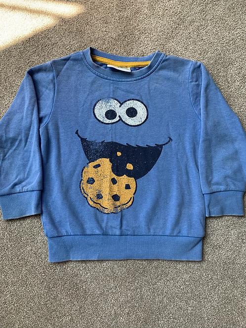2-3y Next Cookie Monster Sweatshirt