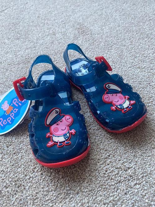 BNWT Size 4 Peppa Pig Sandals