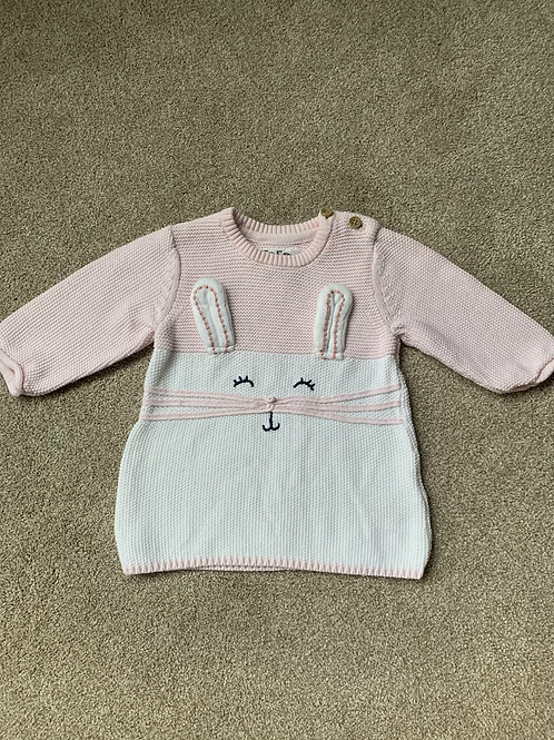 Up to one month Knitted Dress