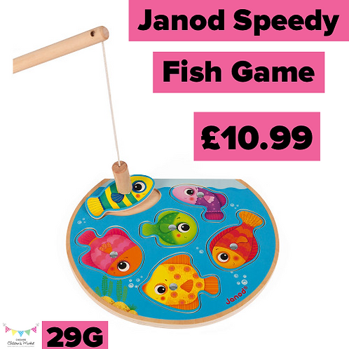 Janod Speedy Fish Game 29G