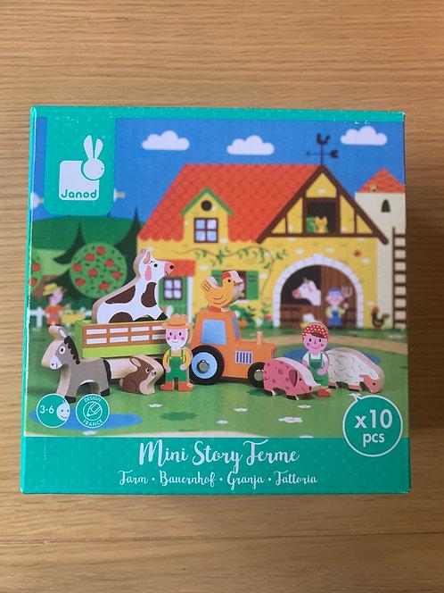 New! Janod Mini Story Farm