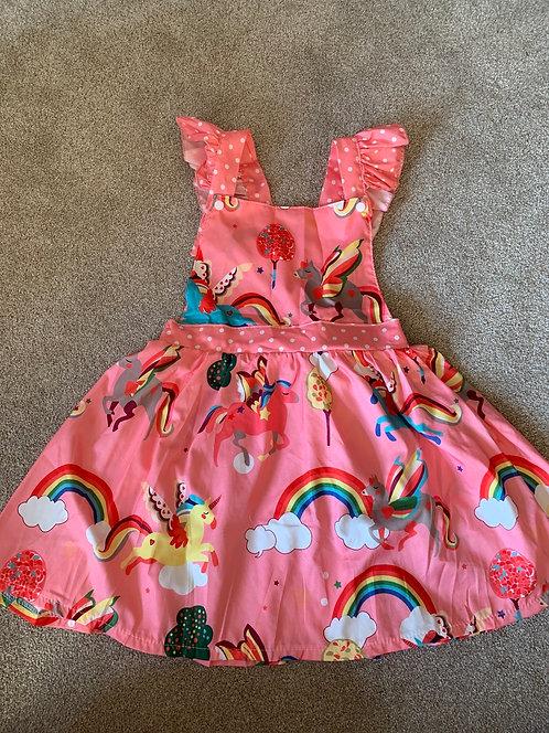 4-5y Rainbow Dress
