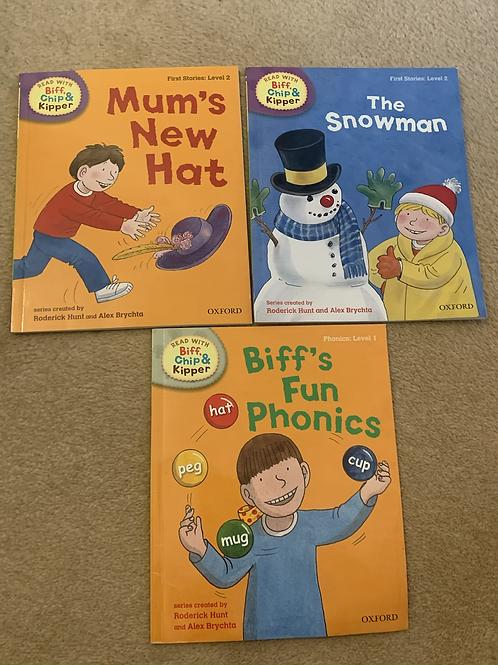Biff & Chip Books x3