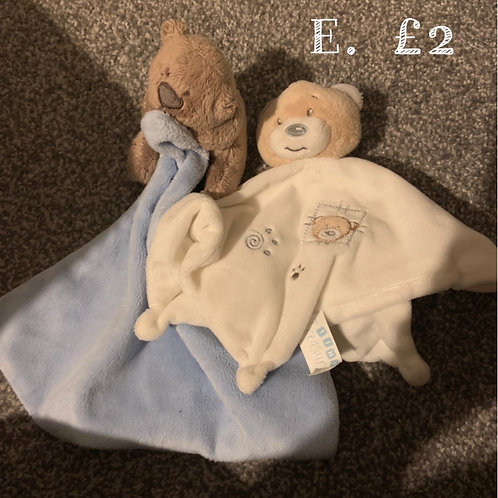 Baby Comforters x2