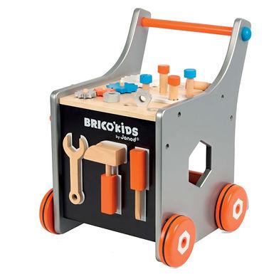 Janod Brico Kids Magnetic DIY Trolley